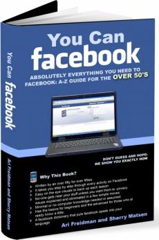 Ebook cover: You Can Facebook