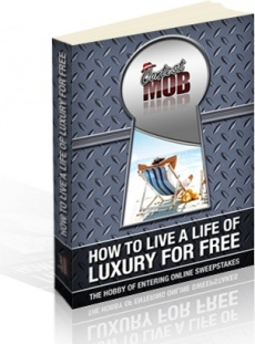 Ebook cover: How to Live a Life of Luxury for Free