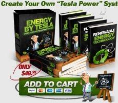Ebook cover: EnergyByTesla - Create Your Own
