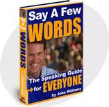 Ebook cover: Say A Few Words