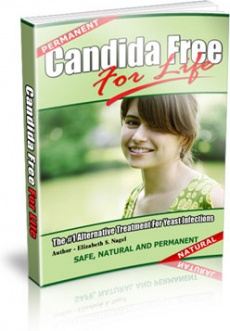 Ebook cover: Candida Free For Life