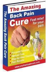 Ebook cover: The Amazing Back Pain Cure