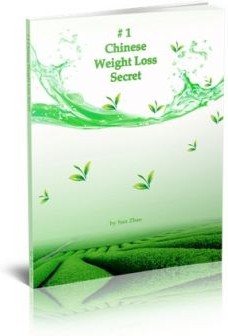 Ebook cover: #1 Chinese Weight Loss Secret