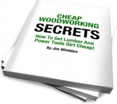 Ebook cover: Cheap Woodworking Secrets
