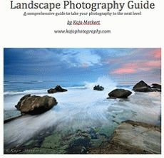 Ebook cover: Landscape Photography