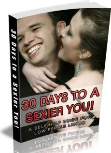 Ebook cover: 30 Days to a Sexier You! A self help guide for women suffering from low libido