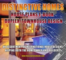 Ebook cover: Duplex & Townhouse-Floor Plans