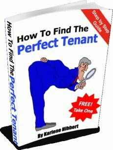 Ebook cover: How To Find The Perfect Tenant