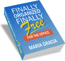 Ebook cover: Finally Organized, Finally Free FOR THE OFFICE