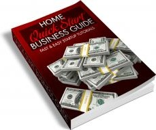 Ebook cover: Home Business Guide