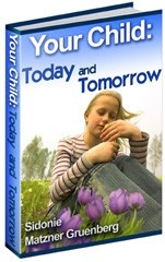 Ebook cover: Your Child: Today and Tomorrow