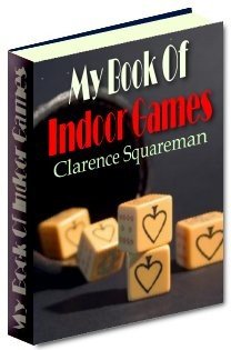 Ebook cover: My Book of Indoor Games