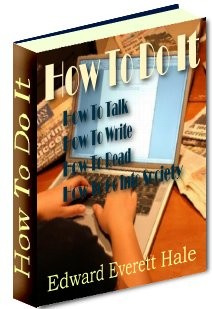 Ebook cover: How To Do It