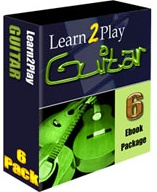 Ebook cover: Learn to Play Guitar Ebook Package