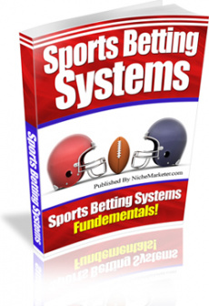 Ebook cover: Sports Betting Systems