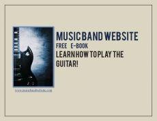 Ebook cover: MusicBandWebsite Guitar Playing