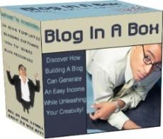 Ebook cover: Blog In A Box