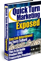 Ebook cover: Quick-Turn Marketing Exposed