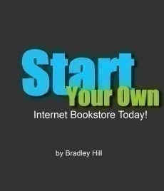 Ebook cover: Start Your Own Internet Bookstore Today
