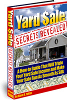 Ebook cover: Yard Sale Secrets Revealed