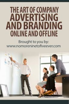 Ebook cover: The Art of Company Advertising and Branding Online and Offline
