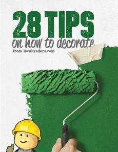 Ebook cover: 28 Tips on How to Decorate