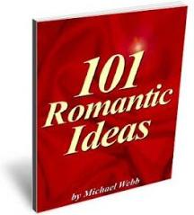 Ebook cover: 101 Romantic Ideas