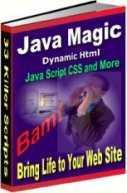 Ebook cover: Java Scripts Magic