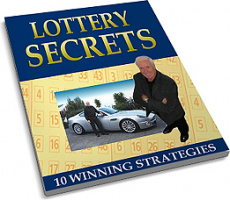 Ebook cover: 10 Secrets To Winning The Lottery