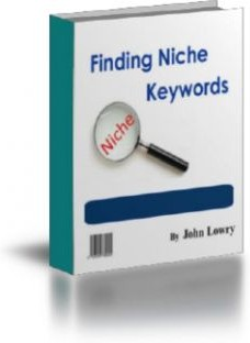 Ebook cover: Finding Niche Keywords