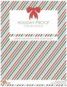 Ebook cover: Holiday Proof Your Website