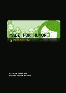 Ebook cover: Made for Humor