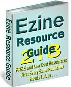 Ebook cover: Ezine Resource Guide