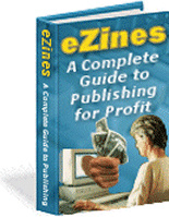 Ebook cover: Ezines: A Complete Guide to Publishing for Profit