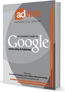 Ebook cover: A Complete Guide to Google Authorship & Publisher