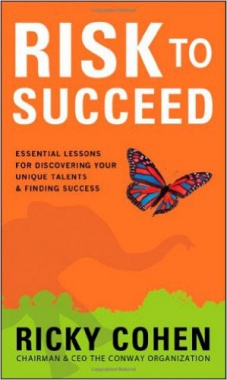 Ebook cover: Risk to Succeed: Essential Lessons for Discovering Your Unique Talents and Finding Success