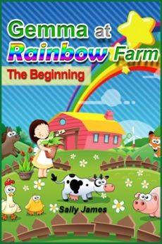 Ebook cover: Gemma At Rainbow Farm - The Beginning