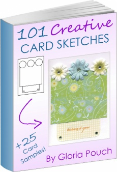 Ebook cover: 101 Creative Card Sketches