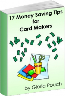 Ebook cover: 17 Money Saving Tips for Card Makers