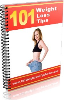 Ebook cover: 101 Weight Loss Tips