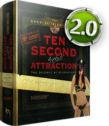 Ebook cover: Mehows 10 Second Sexual Attraction