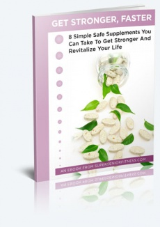 Ebook cover: Get Stronger, Faster