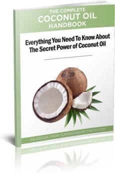 Ebook cover: The Complete Coconut Oil Handbook