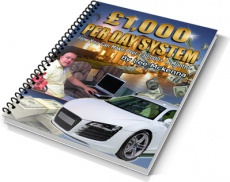 Ebook cover: $1000 per day