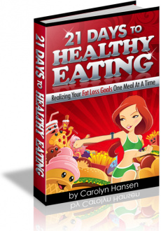 Ebook cover: 21 Days To Healthy Eating