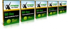 Ebook cover: Fitness for Tennis