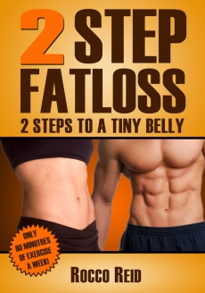Ebook cover: 2 Step Fatloss program