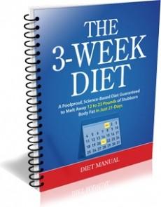 Ebook cover: 3-Week Diet
