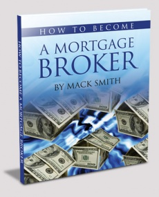 Ebook cover: How to Become A Mortgage Broker