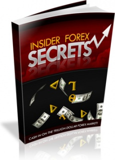 Ebook cover: Insider Forex Secrets